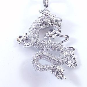 Jewelry - 💞 925 Silver Plated Necklace + Dragon Pendant